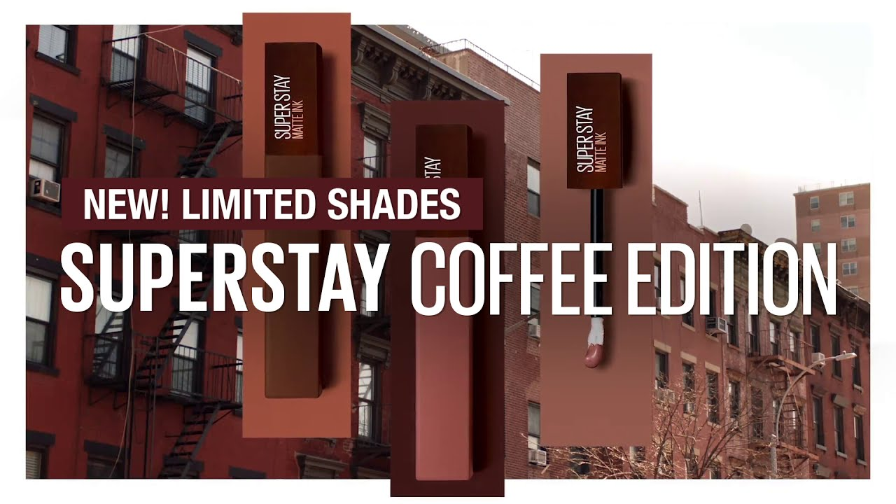 Long Lasting #CoffeeOnYourLips from Maybelline Superstay Coffee Limited Edition