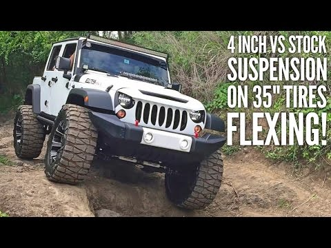 How Much Does It Cost To Lift A Jeep Wrangler Unlimited >> 35' TIRES, NO LIFT! 2017 Wrangler Rubicon RECON! Our ... | Doovi