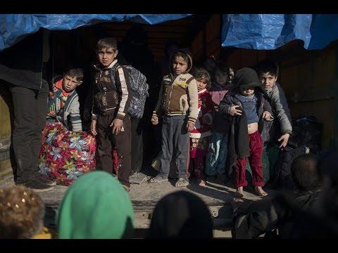 أخبار عربية - نزوح 400 ألف شخص من غرب #الموصل منذ بدء العمليات العسكرية