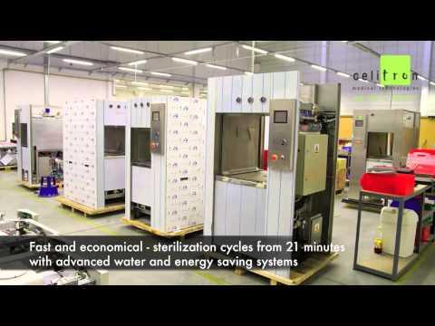 Celitron - Large Steam Sterilizers / Autoclaves
