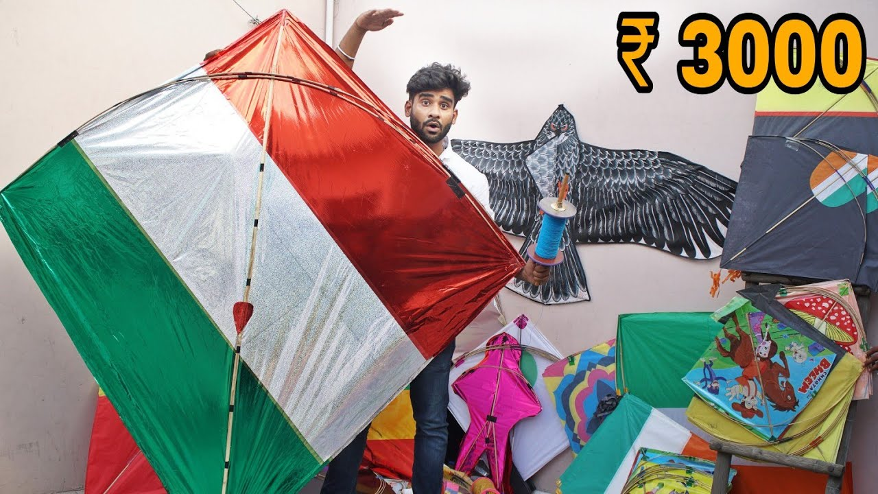 KITE STASH 2019 | 15 aug special kite collection