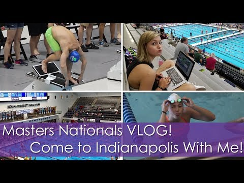 US Masters Nationals VLOG! Come to Indianapolis With Me and My Dad!!