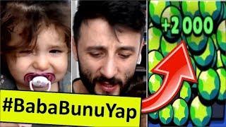 #BabaBunuYap | BABA, HEMEN BANA 2000 TAŞ AL! Brawl Stars