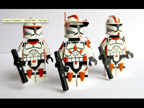Custom LEGO : Star Wars 7th Sky Corps Clone Commander Cody - Waxer ...