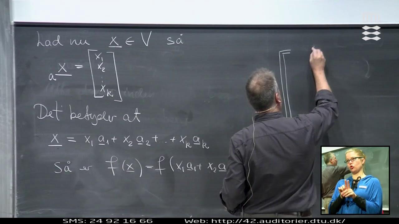 Lek 6 | Matematik - Lineær Afbildning (Part 2/2)