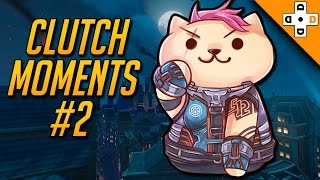 Overwatch Clutch Moments #2 - Highlights Montage