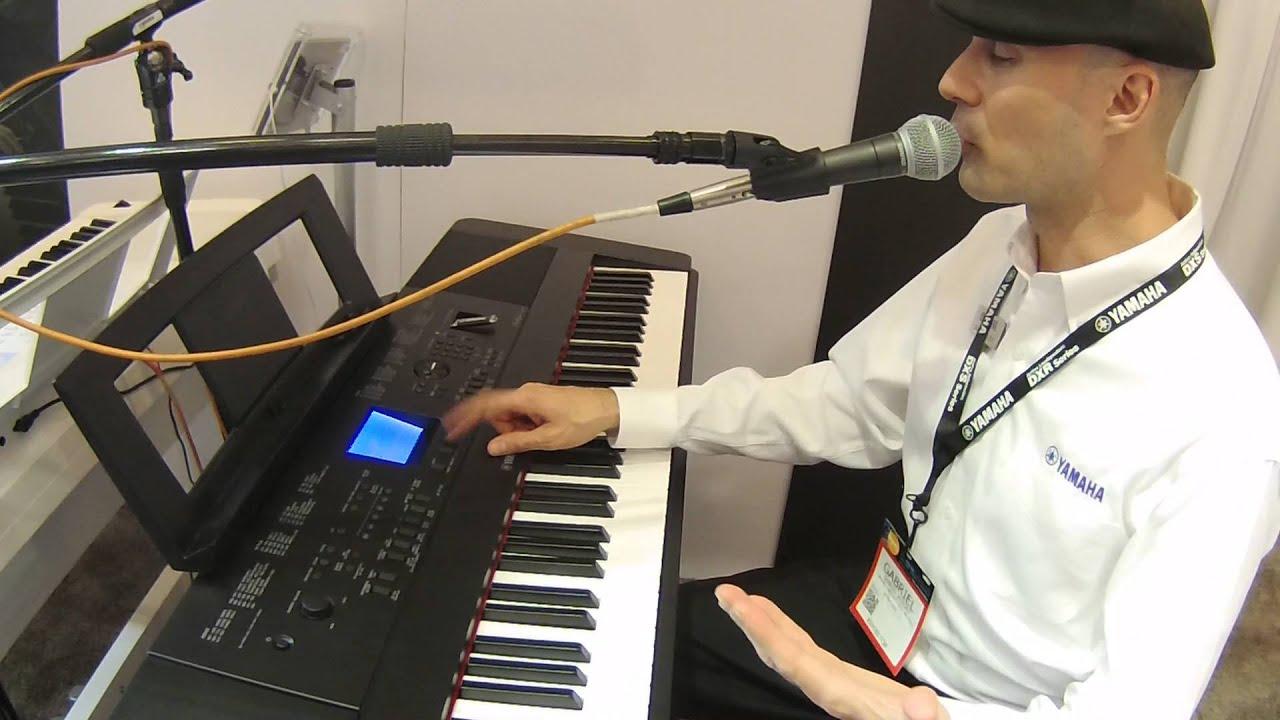 namm 2016 yamaha dgx 660 digital piano youtube
