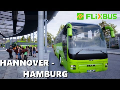 FERNBUS 2018 | HANNOVER - HAMBURG ROUTE | Bus Simulator LIVE GAMEPLAY