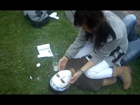 Como hacer una mascara de yeso parte 3 de 4 youtube - Como hacer una mascara ...