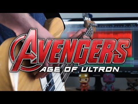 Avengers: Age of Ultron Theme on Guitar