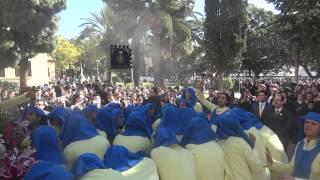 Procesión Gamarra 2015  Salida de la Virgen