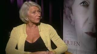 Helen Mirren interview for The Queen