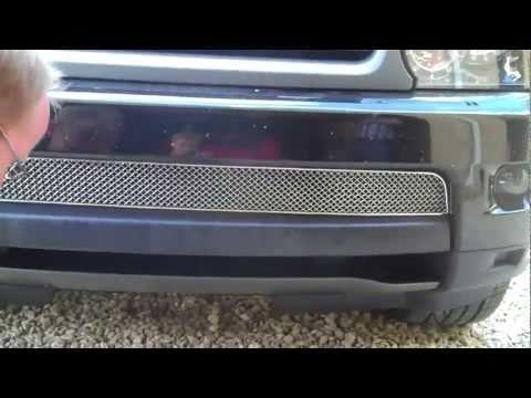 How To Fit Chrome Lower Mesh Grille Range Rover Sport 2010