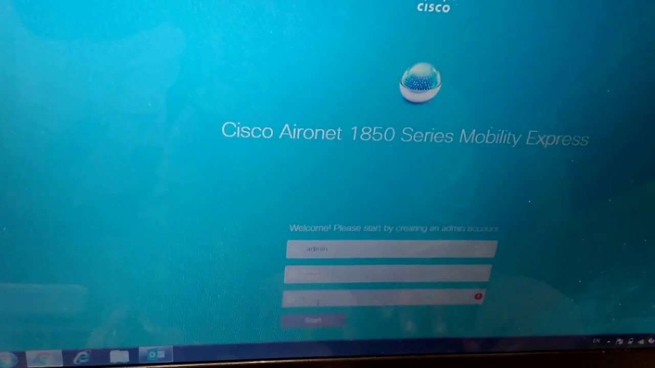 Configuring Cisco Aironet 1850 Series Mobility Express with only 3  Steps--By Binal