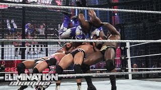 WWE Network: The New Day get Triple Suplexed: Elimination Chamber 2015