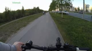 ВЕЛОСИПЕДНЫЙ ФОНАРИК ПЕРЕДНИЙ(Отличным помощником во время ночных поездок для вас станет мощный велосипедный фонарь. Алюминиевый корпус..., 2015-05-23T03:06:42.000Z)