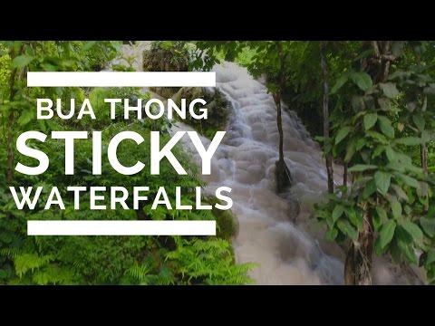 STICKY WATERFALLS BUA THONG -  CHIANG MAI