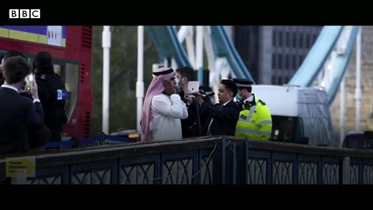 ترندينغ: لأول مرة.. رفع الأذان من أعلى جسر برج لندن  - 18:58-2021 / 5 / 12