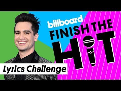 Panic! at the Disco Lyrics Challenge | Finish the Hit | Billboard