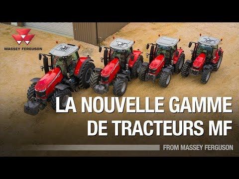 La Nouvelle Gamme De Tracteurs Massey Ferguson (Français)