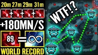 wTF New World Record! EPIC 4 Blood Stone 180 Mn/s Storm Spirit Counter Tinker Imba Dota 2 Gameplay