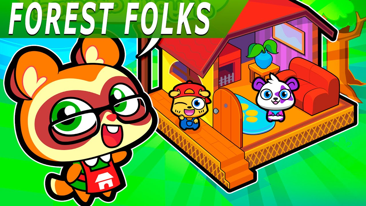 Home Design Mod Apk Part - 35: Forest Folks - Pet Home Design (Android HD Gameplay Video) - YouTube
