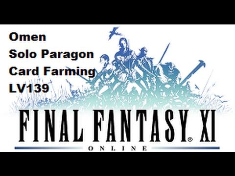 FFXI - Omen Card Farming (Small Light Update)