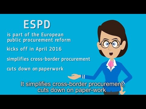 European Single Procurement Document