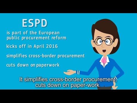 European Single Procurement Document