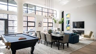 Interior Design — An Art Collector's Toronto Loft
