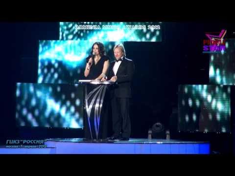 9.Armenia Мusic Awards 2012.Концерт.Москва,7 апреля 2012