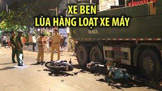 KINH HOÀNG | Xe ben cuốn nhiều người vào gầm trên đường Phan Văn Trị
