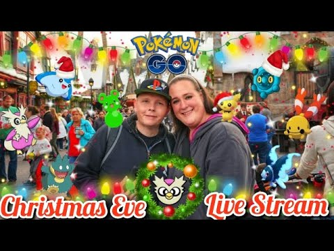 🎄 Live 🎄 SHiNY CHRiSTMAS EVE STREAM 🎁 | Pokemon Go ICE EVENT 2018 🎅 thumbnail