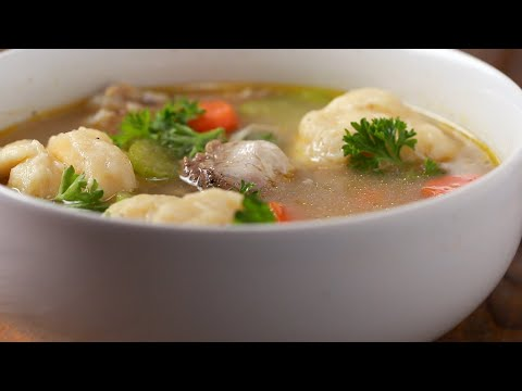 Chicken And Dumplings • Tasty