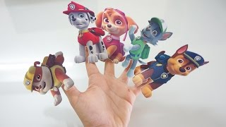 Paw Patrol Learn Colors for Children Balloons Finger Family Song Nursery Rhymes