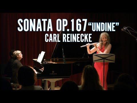 Carl Reinecke Flute Sonata op.167 Undine   Alexa Still