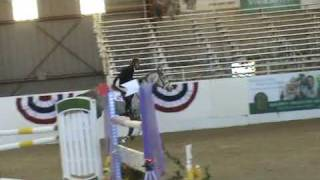 """Banba"" and Rich Fellers: Sacramento International 09- 1.4m 1st RD"