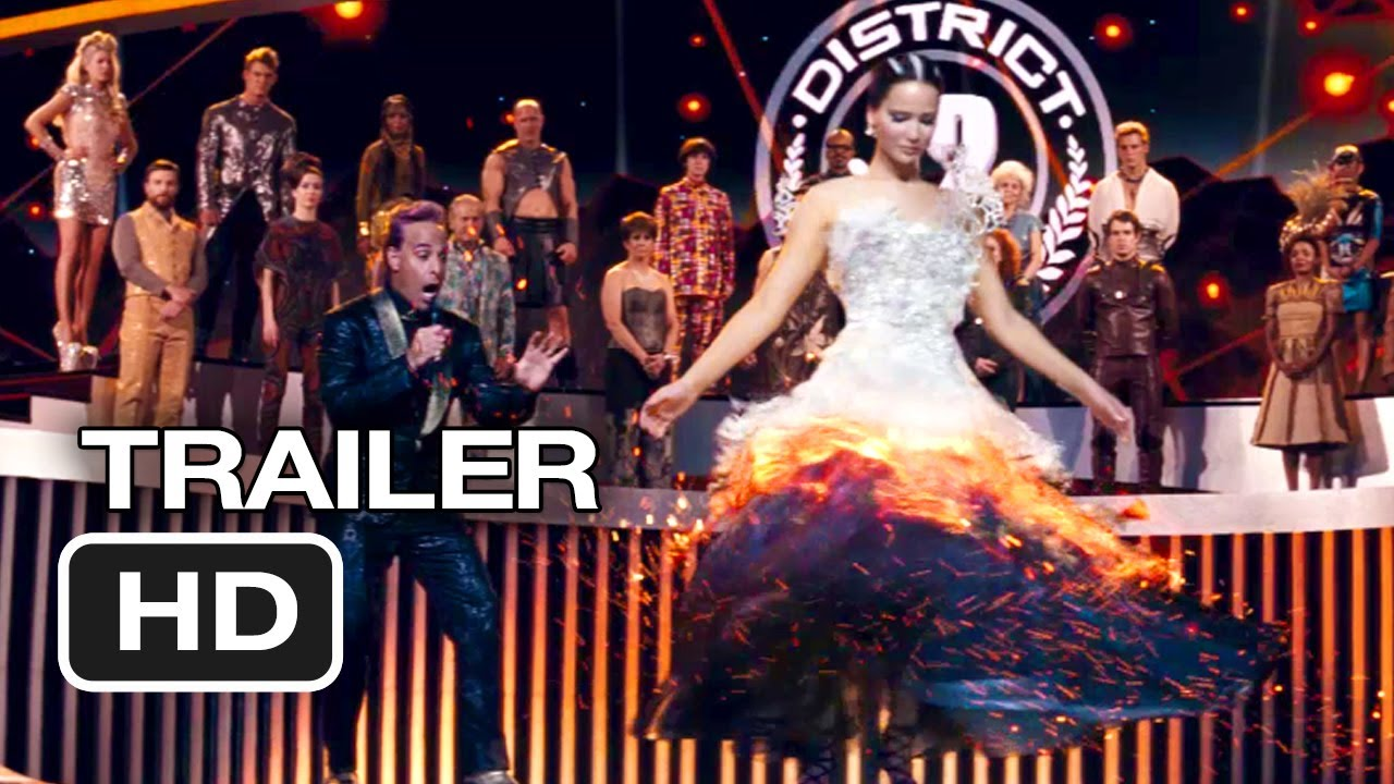 The hunger games catching fire katniss wedding dress designer - The Hunger Games Catching Fire Trailer 1 2013 Jennifer Lawrence Movie Hd Youtube