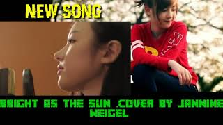 Gambar cover Bright as the son ,Cover by Jannie weigel.