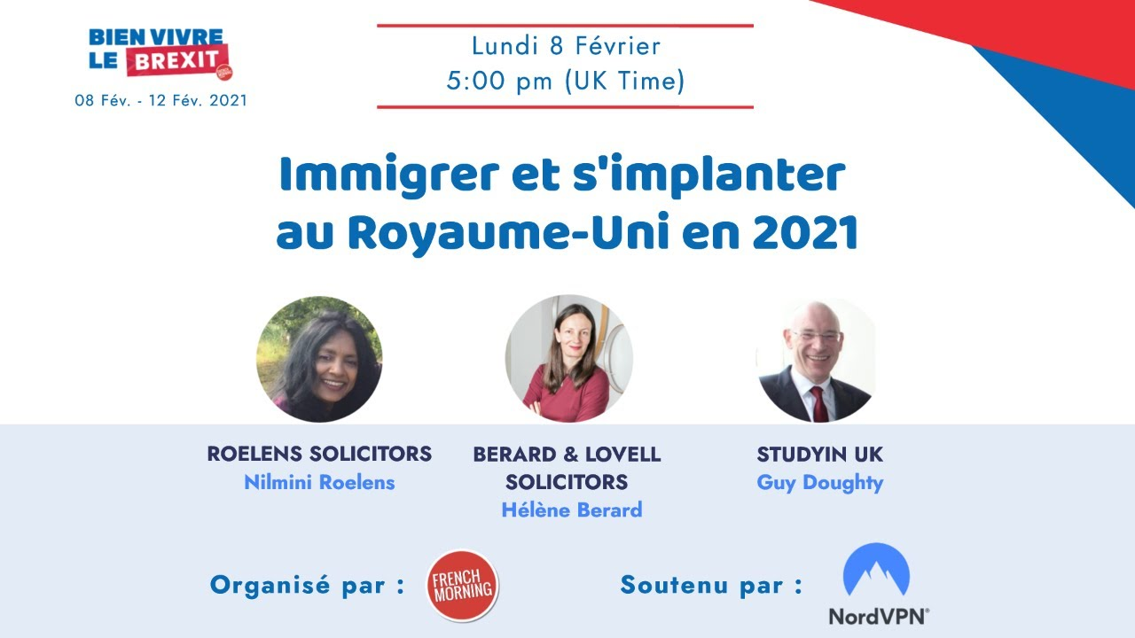 Immigrer et s'implanter au Royaume-Uni en 2021