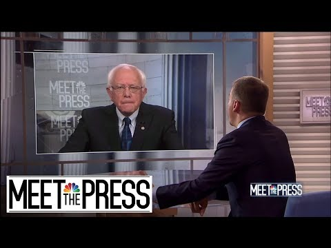Full Sanders: 'We're Going To Try To Transform The United States Of America' | Meet The Press