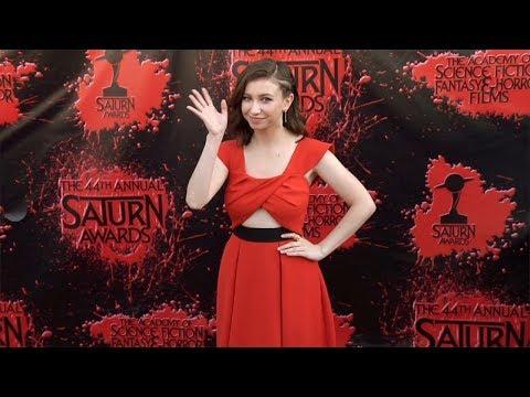 Katelyn Nacon 2018 Saturn Awards Red Carpet