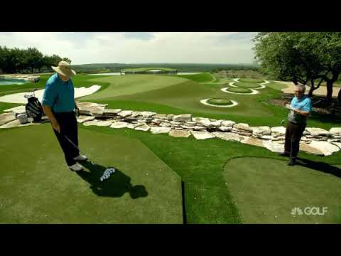 Wedge Week: Dave Pelz swing tips for distance control | Golf Channel