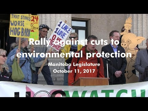 Protect Manitoba Environment from Tory Cuts