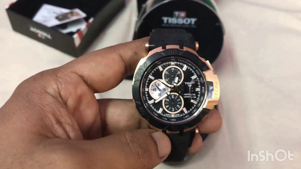 2947871fa44 Tissot Limited Edition T-race 2017 (Model -T0924272705100A) - YouTube
