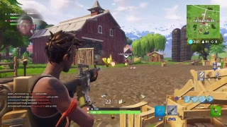 AyyAjw Live PS4 Broadcast fortnite battle royal can we get a win