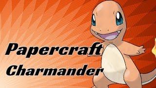 Papercraft - Charmander