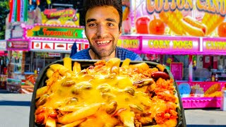 LIVING on WORLD'S BEST FRIES for 24 HOURS!