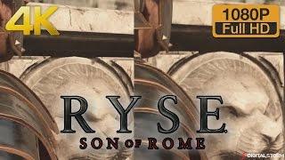 4K vs 1080p Graphics Comparison - Ryse: Son of Rome