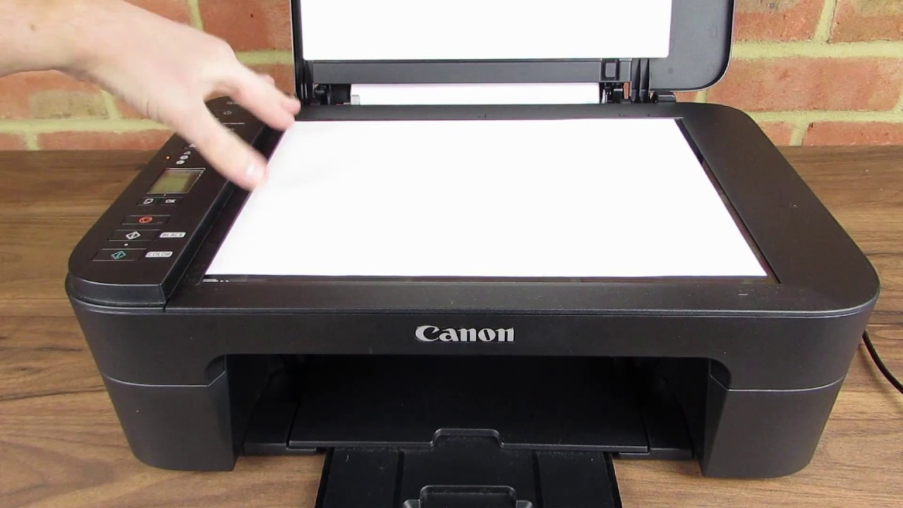 Canon Pixma Ts3150 Scan To Windows 10 Youtube